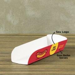 Caixa Hotdog Aberta